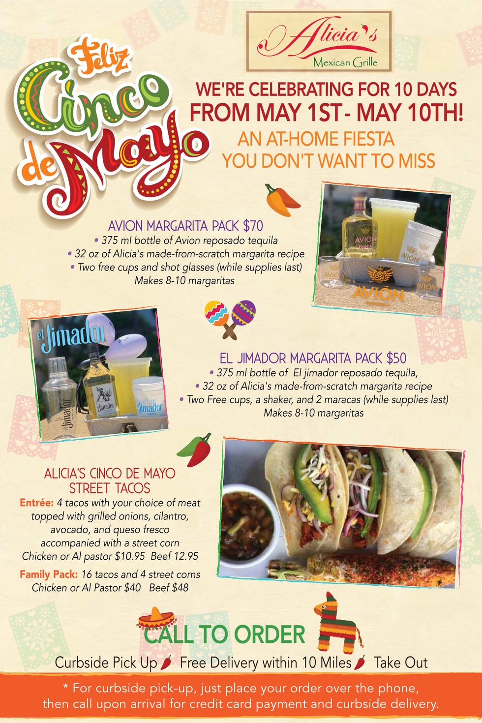 Feliz Cinco de Mayo - 10 days of at home fiesta